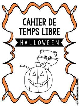 Cahier de temps libre d'Halloween