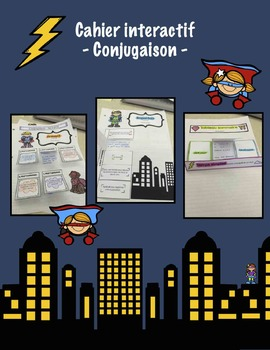 Cahier interactif - Conjugaison - French interactive noteb