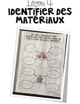 Cahier interactif: Les objets et les matériaux {première année}