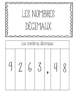 Cahier interactif - Mathématique- Nombres décimaux