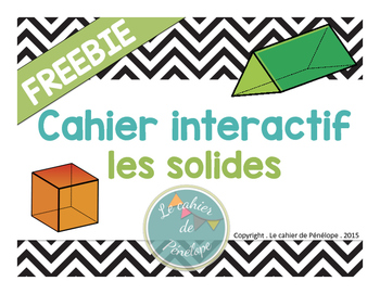 Cahier interactif : les solides