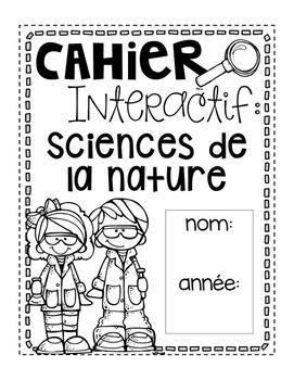 Cahier interactif: sciences de la nature {produit gratuit}