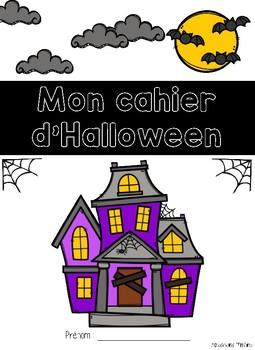Cahier passe-temps - Halloween