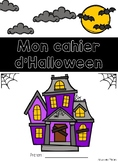 Cahier passe-temps - Halloween