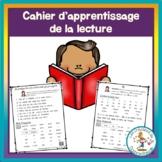 Cahier d'apprentissage de la lecture pour la maison - 1re année