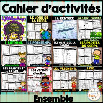 Cahiers d'activités - Ensemble - Bundle