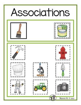 Cahiers d'associations (Association Flipbooks)