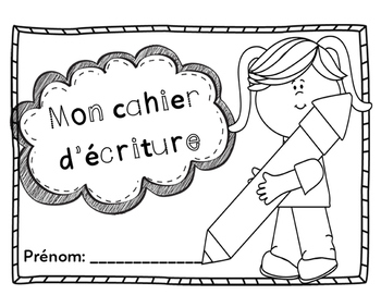 Cahiers d'écriture (French Writing Books)