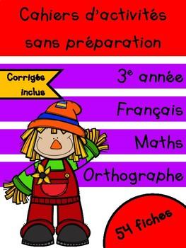 Cahiers d'octobre - 3e année