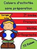 Cahiers de Janvier - 3e année