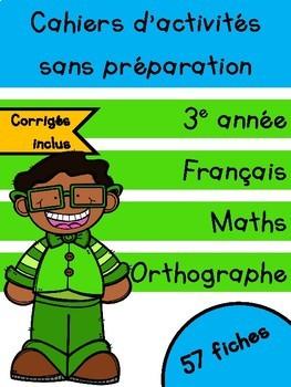 Cahiers de mars - 3e année