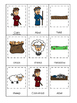 Cain and Abel 3 Part Matching printable game. Preschool Bible Study Curriculum