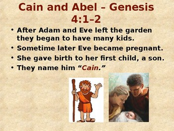 Messianic Bible Stories for Kids - Cain and Abel
