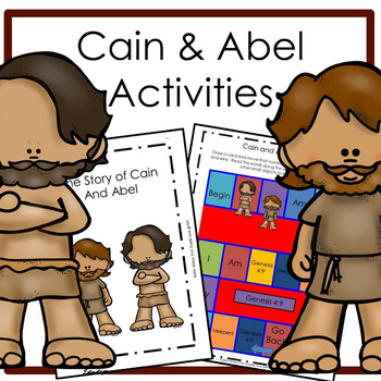 Cain And Abel Worksheets Teaching Resources Teachers Pay Teachers