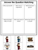 Cain and Abel Answer the Question printable game. Preschool Bible Study Curricul