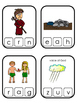 Cain and Abel Beginning Sound Clip It printable game. Preschool Bible Study Curr