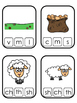 Cain and Abel Beginning Sound Clip It printable game. Pres