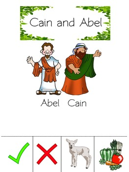 Cain and Abel Worksheet