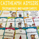 Caitheamh Aimsire Irish Display Pack and Worksheets
