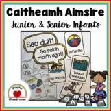 Caitheamh Aimsire - Irish Worksheets for Junior and Senior