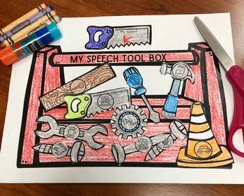 Caja de Herramientas De Sonidos: A Speech Craft Activity (Español)