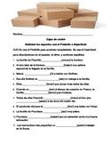 Cajas de cartón (Preterit vs Imperfect)