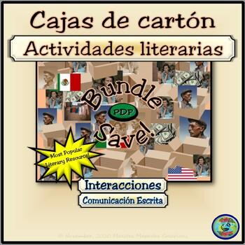 Cajas de cartón Literary Activities Bundle