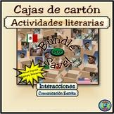 Cajas de cartón Literary Activity Bundle