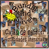 Cajas de cartón Literary Activity Bundle
