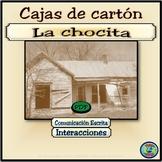 """Cajas de cartón """"chocita"""" project / El proyecto de la chocita"""