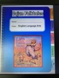 Cajun Folktales Guidebook Interactive Digital Notebook grade 3 Google Slides