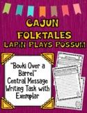 "Cajun Folktales: Guidebooks ""Bouki Over a Barrel"" Writing"