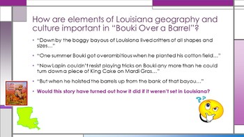 Cajun Folktales Lesson 4-8 PPT