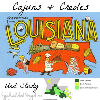 Cajuns & Creoles - Elementary Cultural Study (Louisiana)