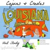 Cajuns, Creoles & Mardi Gras - Elementary Cultural Study (