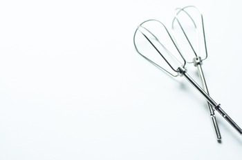 Stock Photo: Metal Kitchen Cake Beaters #2 -Personal & Com