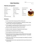 Cake Chemistry