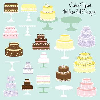 Clipart: Cake Clip Art