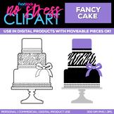 Cake Clipart Single   Digital Use Ok!