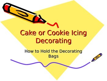 Cake & Cookie Icing Decorating Power Point Tips