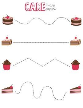 Cake Cutting Practice