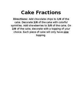 Cake Fractions