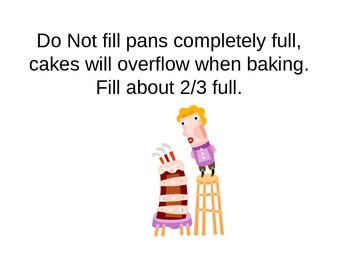 Cake Lab Directions Power Point