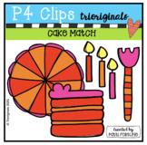 Cake Make a Match (P4Clips Trioriginals) MATCHING CLIPART