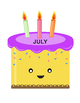 Cake Month Chart