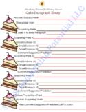 Cake Paragraph Essay-5 paragraph essay graphic organizer f
