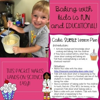Cake Science Lesson