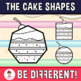 Cake Shapes Clipart