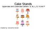 Cake Stand Braille File Folder Game