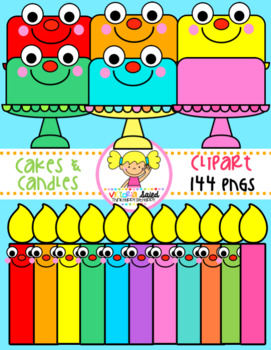 Cakes & Candles Clipart